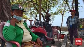 Pedagang dan Tukang Pijat Keluhkan Wisata Bali Masih Sepi