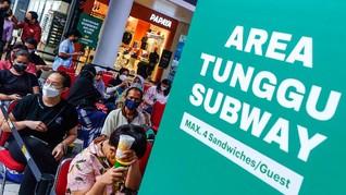 Rangkuman Covid: Antrean Subway hingga Penipuan Foto Bugil