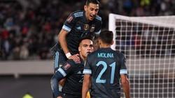 Argentina Vs Peru: Lautaro Martinez Antar Tim Tango Menang