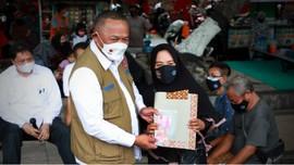 BNPB Bagikan 1.000 Masker untuk UMKM dan PKL di Mataram