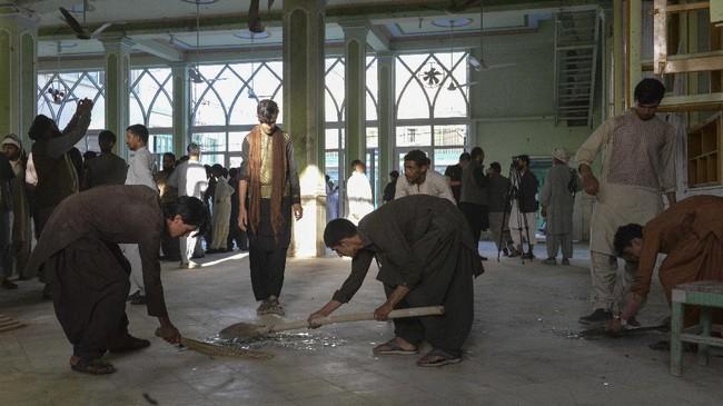 ISIS Klaim Bom Masjid Afghanistan yang Tewaskan 47 Orang