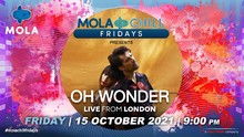 Terpikat Kesederhanaan Oh Wonder dalam Mola Chill Fridays