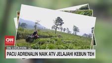 VIDEO: Pacu Adrenalin Naik ATV Jelajahi Kebun Teh
