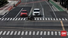 FOTO: Ganjil Genap Jakarta Normal, Tak Berlaku Saat Libur