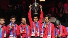 Thomas Cup: Kronologi Indonesia Tak Bisa Kibarkan Merah Putih