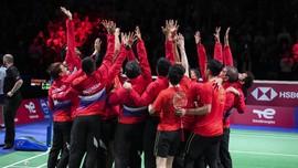 Top 3 Sports: Indonesia Juara Thomas Cup, Merah Putih Absen