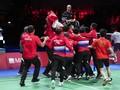 Perjalanan Indonesia Hingga Juara Thomas Cup