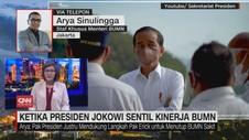 VIDEO: Ketika Presiden Jokowi Sentil Kinerja BUMN