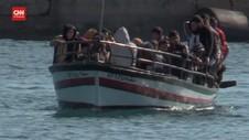 VIDEO: Kapal Imigran Tunisia Tengelam Di Perairan Italia