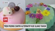VIDEO: Tren Puding Cantik Alternatif Kue Ulang Tahun