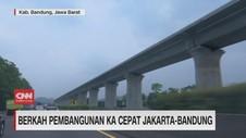 VIDEO: Berkah Pembangunan KA Cepat Jakarta-Bandung