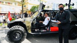Mahasiswa USU Kritik 2 Tahun Jokowi-Ma'ruf ala Squid Game