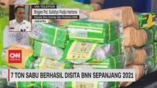 VIDEO: 7 Ton Sabu Berhasil Disita BNN Sepanjang 2021