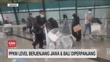 VIDEO: PPKM Level Berjenjang Jawa Bali Diperpanjang