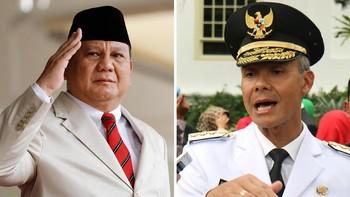 Survei Litbang Kompas: Ganjar Terus Naik, Prabowo Fluktuatif