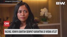 VIDEO: Rachel Vennya Bantah Sempat Karantina di Wisma Atlet