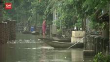 VIDEO: Banjir Bandang Terjang 2 Provinsi Vietnam, 3 Tewas
