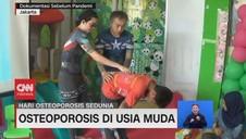 VIDEO: Hari Osteoporosis Sedunia: Osteoporosis di Usia Muda
