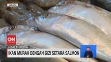 VIDEO: Ikan Murah Dengan Gizi Setara Salmon