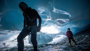 FOTO: Gua Es Gletser Austria, 'Hangat' datang Lebih Cepat