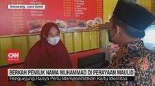 VIDEO: Berkah Pemilik Nama Muhammad di Perayaan Maulid