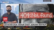 VIDEO: Catatan Dua Tahun Jokowi-Maruf