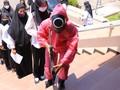 Media Korsel Soroti 'Tentara Squid Game' Awasi Tes CPNS Jatim