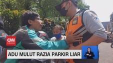 VIDEO: Adu Mulut Razia Parkir Liar