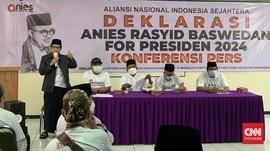 Relawan Resmi Deklarasi 'Anies for Presiden' di Pilpres 2024