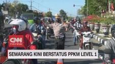 VIDEO: Semarang Kini Berstatus PPKM Level 1