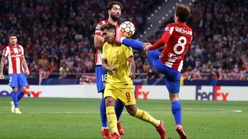 Griezmann vs Liverpool: 2 Gol, Kartu Merah, Tendangan Kungfu