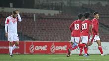 Timnas U-23 vs Nepal Masih Sama Kuat di Babak Pertama