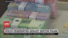 VIDEO: 2 Tahun Kinerja Jokowi-Ma'ruf di Sektor Pajak