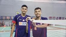 Denmark Open: Bagas/Fikri Kalah, Ganda Putra Indonesia Habis