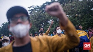 Jokowi Tak Respons Tuntutan, BEM SI Tentukan Sikap Malam Ini