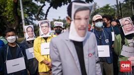 FOTO: BEM SI Gelar Aksi Evaluasi 7 Tahun Jokowi