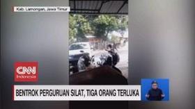 VIDEO: Bentrok Perguruan Silat, Tiga Orang Terluka