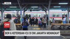 VIDEO:BOR & Keterisian ICU di DKI Jakarta Meningkat