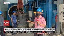 VIDEO: Kesiapan Pompa Air Menyambut Musim Hujan