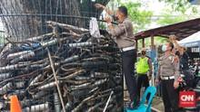 Viral Knalpot Bodong Sitaan Dijual Online, Polisi Bantah