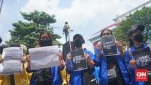 Mahasiswa Semarang Gelar Sidang Rakyat, Tagih Janji Jokowi
