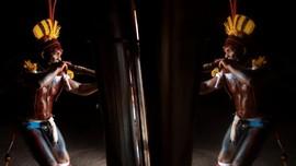 FOTO: Kuarup, Ritual Pemakaman Suku Asli Amazon
