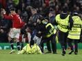 Ronaldo Nyaris Cedera Ditekel Petugas di MU vs Atalanta