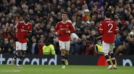 Pesan Emosional Ronaldo Usai Man Utd Menang Susah Payah