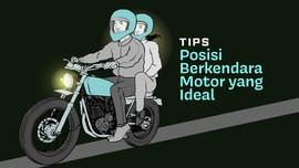 INFOGRAFIS: Posisi Berkendara Motor yang Ideal