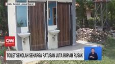 VIDEO: Toilet sekolah Seharga Ratusan Juta Rupiah Rusak