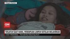 VIDEO: Jatuh Saat Hamil, Perempuan Lumpuh Setelah Melahirkan