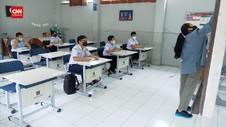 VIDEO: PTM, 54 SIswa Dan Guru Di Bandung Positif Covid-19