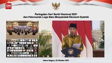 VIDEO: Jokowi Harap Santri Ciptakan Lapangan Kerja