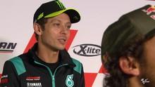VIDEO: Rossi Tak Sabar Bilang 'Ciao' di MotoGP Emilia Romagna
